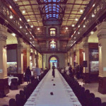 Mortlock Wing table decorations for Hugh Hamilton wine launch Pure Black